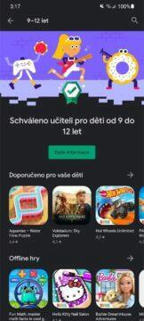 Obchod Play aplikace hry pro děti schváleno učitelem 10 od 9 do 12 let