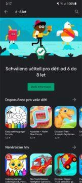 Obchod Play aplikace hry pro děti schváleno učitelem 9 od 6 do 8 let