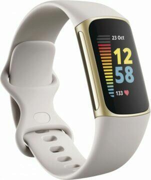 Oficiální rendery Fitbit Charge 5 zlaté