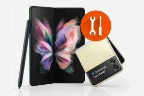 oprava displeje Samsung Galaxy Z Fold3 Z Flip3 cena