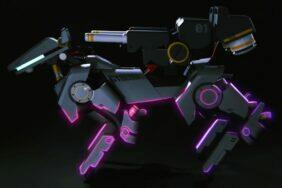 ozbrojený Xiaomi CyberDog koncept