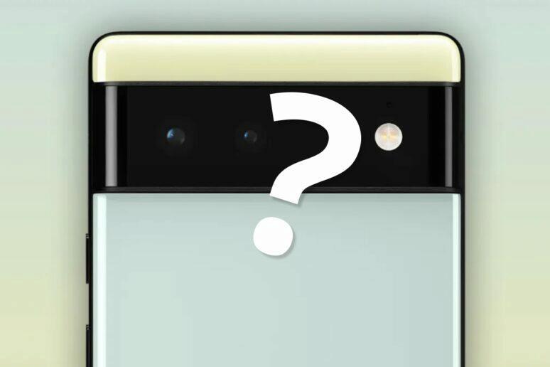 Pixel 6 větší foťák Fotoaparát Google