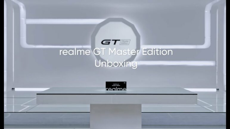 realme GT Master Edition   Offical Unboxing