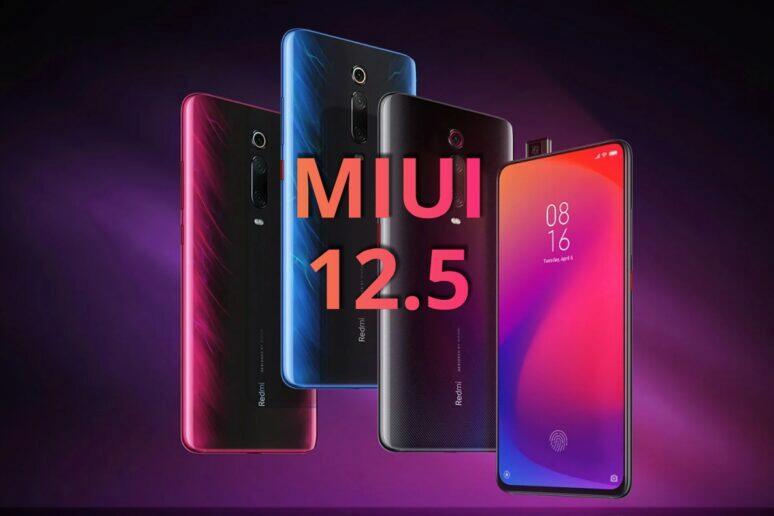 Redmi K20 Xiaomi Mi 9T Pro MIUI 12.5