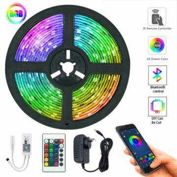 RGB LED pásek s Bluetooth i WiFi ovládáním
