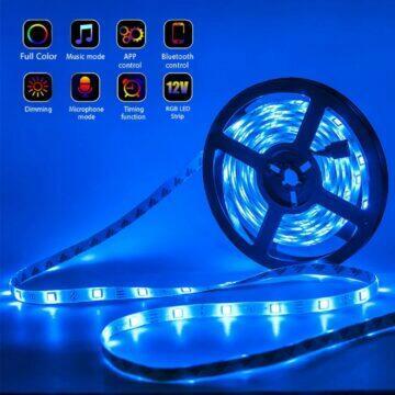 RGB LED pásek s Bluetooth i WiFi ovládáním funkce