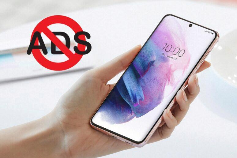 Samsung aplikace reklamy