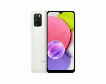 Samsung Galaxy A03s bílá