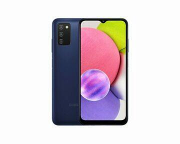 Samsung Galaxy A03s modrá