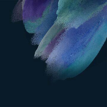 Samsung Galaxy S21 FE tapety modrá tmavá