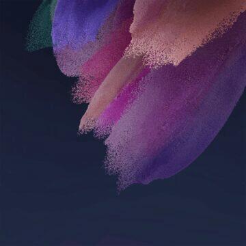 Samsung Galaxy S21 FE tapety růžová tmavá
