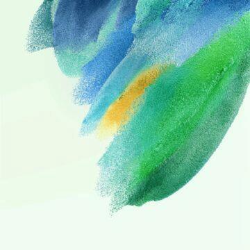 Samsung Galaxy S21 FE tapety zelená světlá