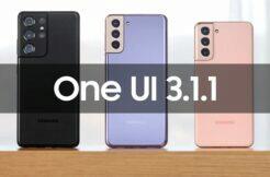 Samsung Galaxy S21 One UI 3.1.1 update novinky