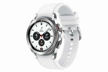 Samsung Galaxy Watch4 Classic stříbrná