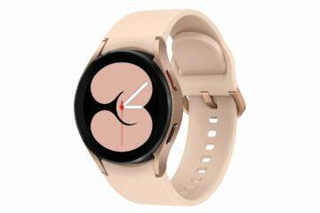 Samsung Galaxy Watch4 růžová