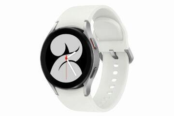 Samsung Galaxy Watch4 stříbrná