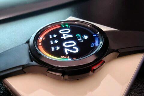 Samsung Galaxy Watch4 testování