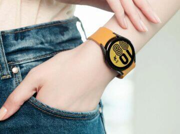 Samsung Galaxy Watch4 zápěstí