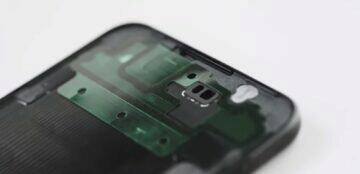 Samsung Galaxy Z Flip Galaxy Z Fold voděodolnost modul