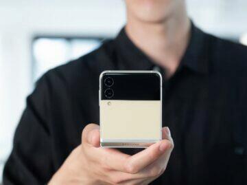 Samsung Galaxy Z Flip3 fotoaparáty
