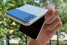 Samsung Galaxy Z Flip3 testování