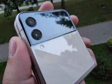Samsung Galaxy Z Flip3 testování fotoaparáty