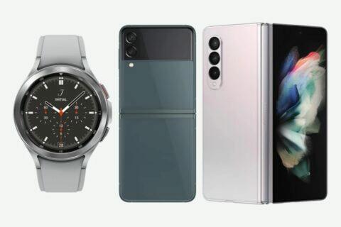 Samsung Galaxy Z Flip3 Z Fold3 Watch4 Buds2 uniklé ceny