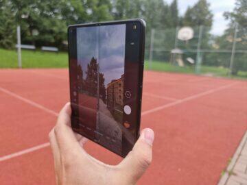 Samsung Galaxy Z Fold3 recenze foto náhled vnitřní