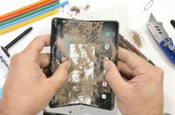 Samsung Galaxy Z Fold3 test odolnosti