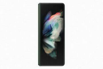 Samsung Galaxy Z Fold3 vnější displej
