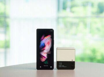 Samsung Galaxy Z Fold3 Z Flip3 cena parametry displej záda
