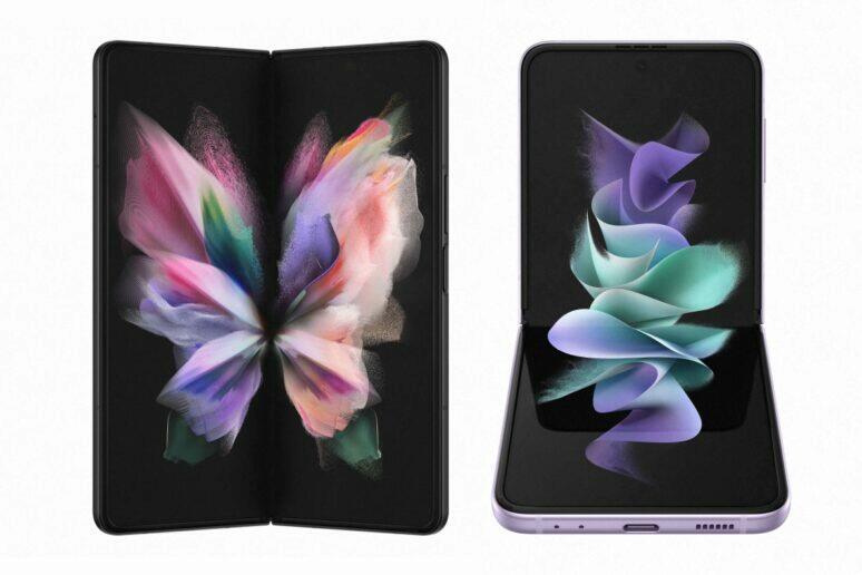 Samsung Galaxy Z Fold3 Z Flip3 foťák pod displejem