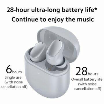 Sluchátka Xiaomi Redmi Buds 3 Pro výdrž