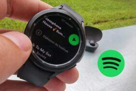 Spotify aplikace Wear OS stahování hudby