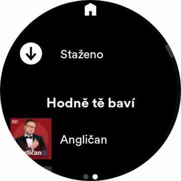 Spotify Wear OS stahování staženo