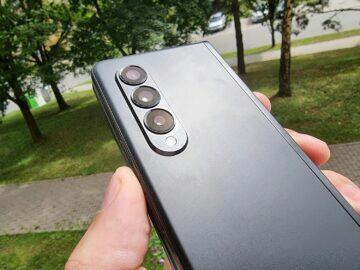 test Samsung Galaxy Z Fold3 fotoaparáty
