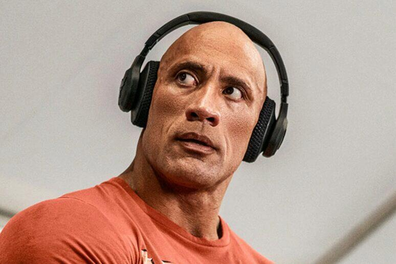 UA Project Rock Over-Ear Training Headphones The Rock sluchátka Under Armour