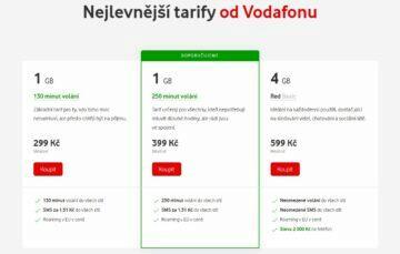 vodafone tarify
