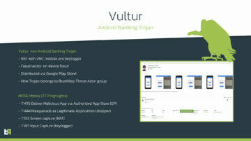 Vultur Sup malware Android grafika