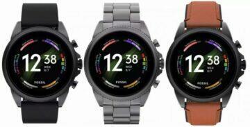 Wear OS hodinky Fossil Gen 6