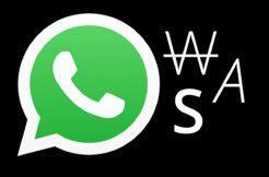 WhatsApp aplikace formátování textu