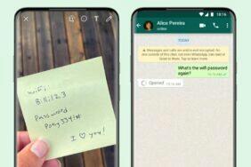 WhatsApp aplikace jednorázové zobrazení fotek a videí