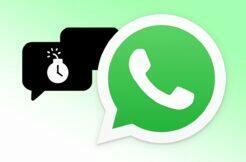 WhatsApp automatické mazání zpráv 90 dní