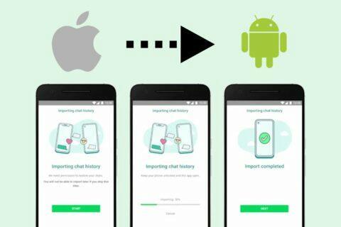WhatsApp iOS Android historie Samsung