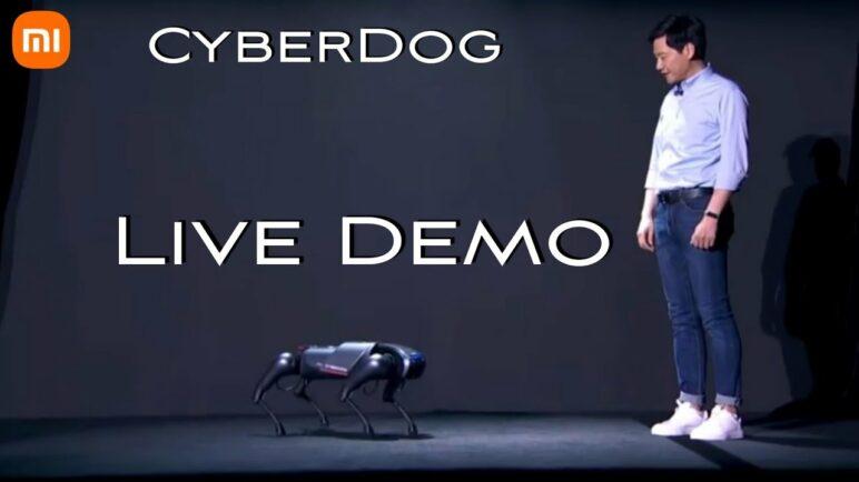Xiaomi Cyberdog (Robotic Dog) Live Demo