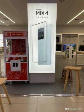 Xiaomi Mi MIX 4 plakát