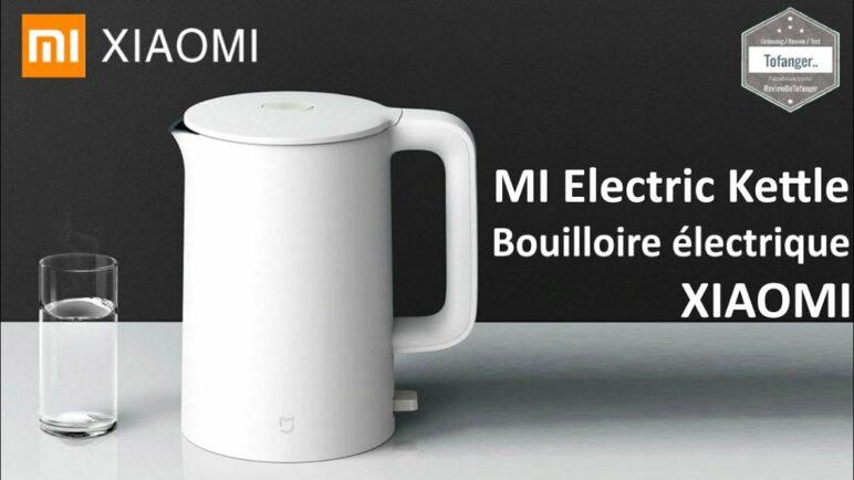 XIAOMI Mijia Bouilloire Électrique 1.5L 1800W - Mi Electric Kettle Xiaomi -  Unboxing