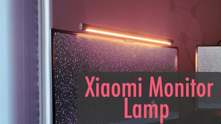 Xiaomi Mijia Monitor Light/Lamp - Unboxing, Setup & Review 10/10