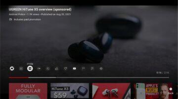 YouTube Android TV nový vzhled nová verze