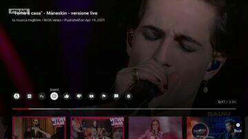 YouTube Android TV nový vzhled stará verze
